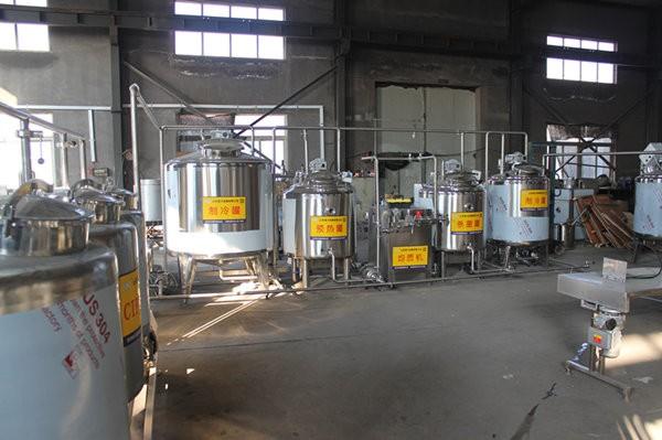 牛奶生產(chan)線中均質前為什麼要先預熱