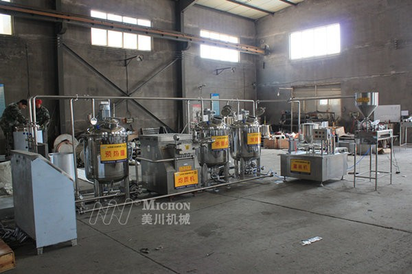 酸奶生产线
