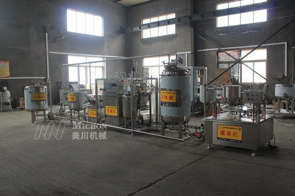 乳(ru)品加工生產線