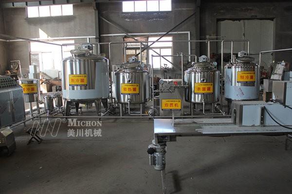 牦牛奶生产线