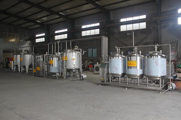 低温牛奶生产线