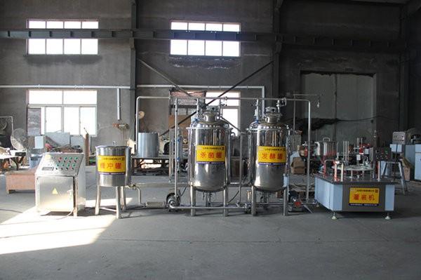 巴氏羊奶生产线