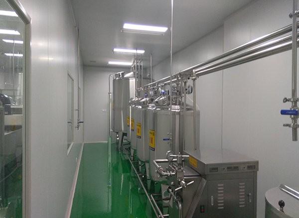 山东欣希安药业蛋液生产线使用现场