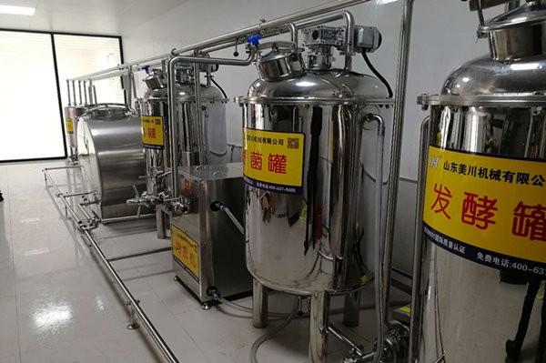 乳(ru)品生產設備
