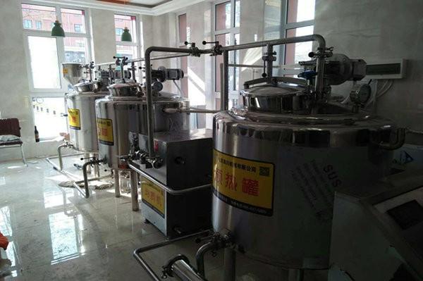 淄博鑫泰牧场牛奶生产线
