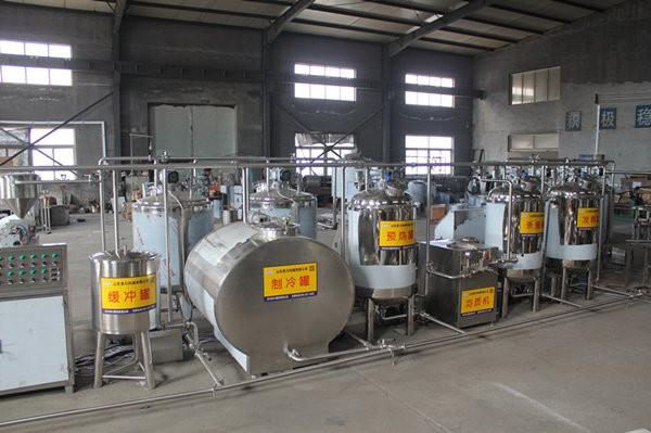 牛奶加工生产线