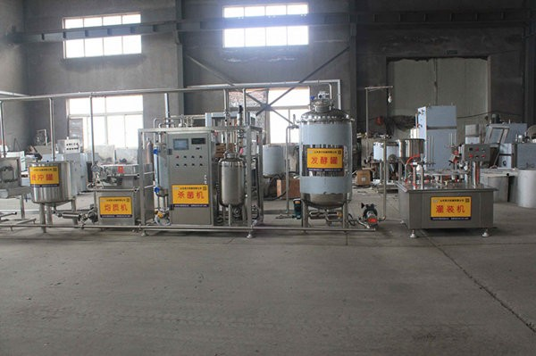 江苏泗阳牛奶生产线