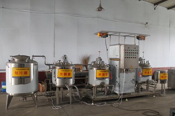 萨齐力乳制品酸奶生产线