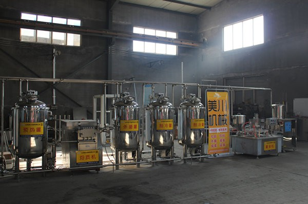 酸奶生產(chan)設備