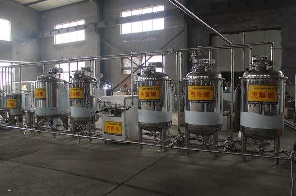 液体酸奶生产线